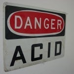 Tip For Cleaning Up An Acid Chemical Spill