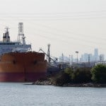 Massive Oil Spill Cripples The Houston Ship Channel