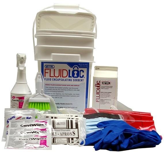 Body Fluid Spill Kit (A8505G 5 gallon pail size)
