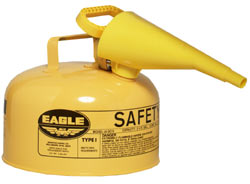 AUI-20FSYE Diesel Fuel Cans (2 gallon metal Eagle diesel can)