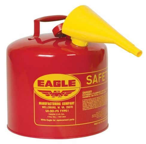 AUI-50FSE 5 Gallon Gas Can (5 gallon gas can with funnel)