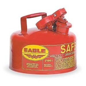 AUI-25SE Safety Gas Can (2-1/2 gallon safety gas can)