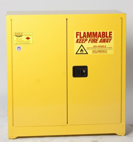 Flammable Liquid Storage Cabinet Safely Store Fuels - Fireproof chemical cabinet