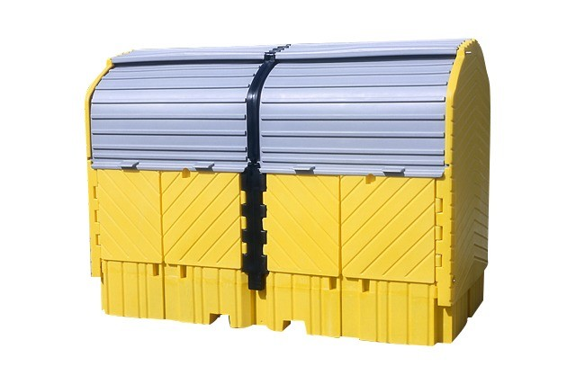A1149U Covered IBC Tote Containment (IBC containment with or without drains)