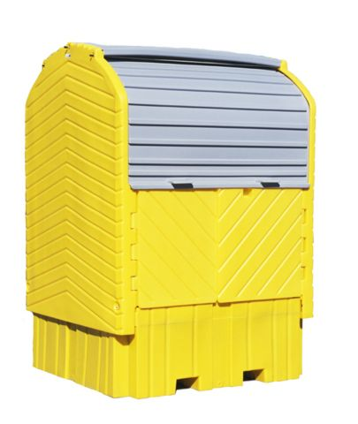A1161U Outside Spill Containment (easy to load with swing out doors)