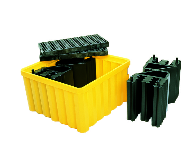 A1057U & A1058U IBC Double Stack Tote (easy assembly of IBC pallets)