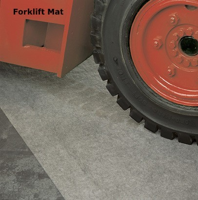 Forklift Mat Absorbent Mat For Under Your Forklift