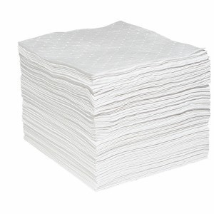 Economy Oil Absorbent Pads (Medium Weight) 15 In. x 19 In., 100/Case