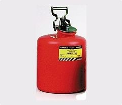 A1525E Red Liquid Waste Can (liquid waste containers)