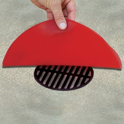 stormwater pollutant drain cover seal