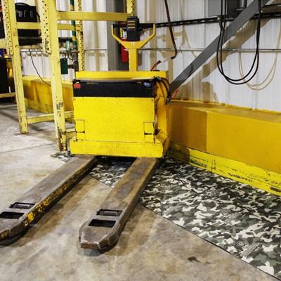absorbent camouflage floor mat