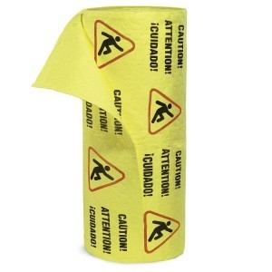 Caution Mat - Absorbent Rolls for Water – MEDIUM Wt 1 roll 30