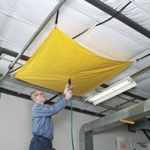 Leak diverter kit for ceiling/roof