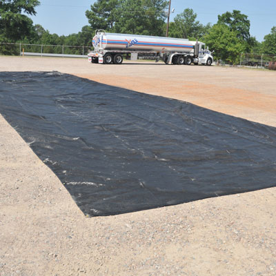 containment berm ground tarp