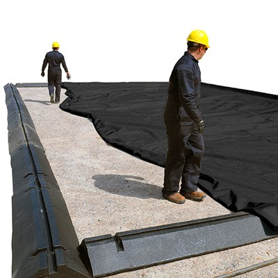 Resizable Modular Containment Berm Spill Containment System