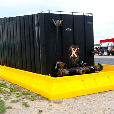 modular spill containment wall