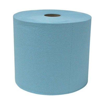 A10252T Blue Shop Towels Jumbo (jumbo roll blue shop towels)