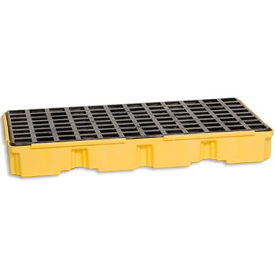 A1632E 2 Drum Spill Pallet spill pallet for two drums