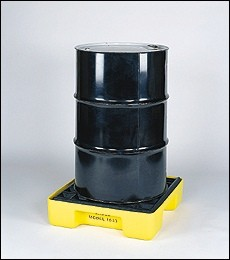 A1633SDE Single Drum Spill Pallet (pallet for one 55 gallon drum)