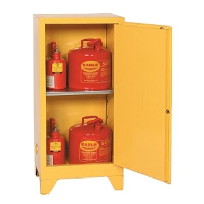 Flammable 16 Gallon Tower Safety Cabinet