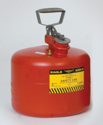 A1537E 3 Gallon Plastic Gas Can (plastic safety can)
