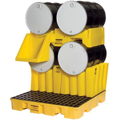 55-gallon drum stacking system