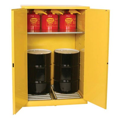 60-gallon drum storage cabinet