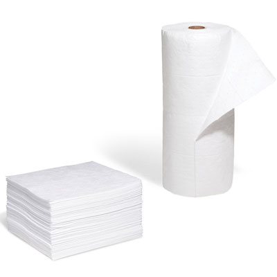 bargain oil absorbent pads and rolls