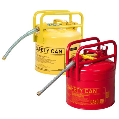 DOT-approved type II safety cans