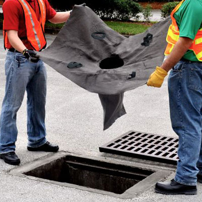 drain guard stormwater filter insert installation