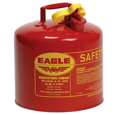 Eagle Safety Gas Cans Type 1 Can