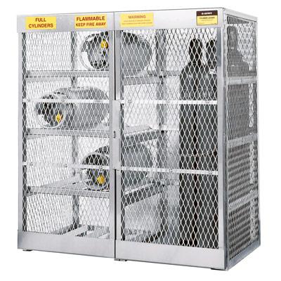 gas cylinder storage cabinet a23008j