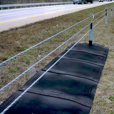 highway weed mat