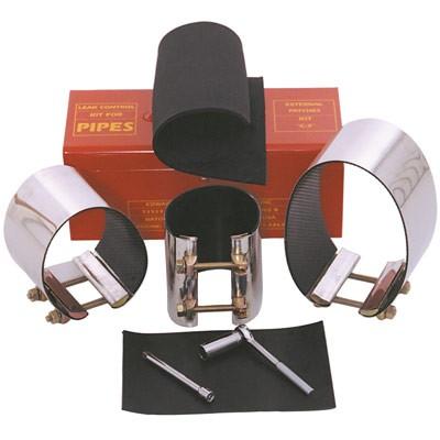 leak repair clamp kit for large pipe