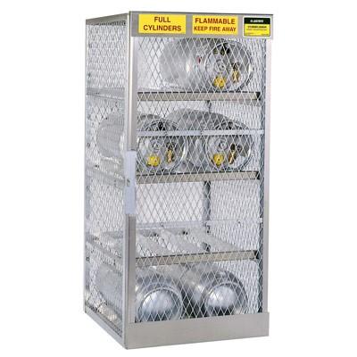Horizontal Cabinet - 8 LPG cylinders | A23003J