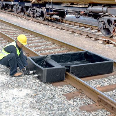 Railroad Track Berm
