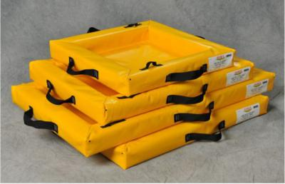 Portable Spill Containment Berms for Drums