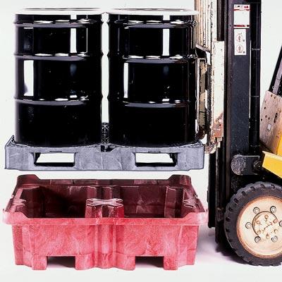 A0801U & A0802U Forklift Spill Control Pallet