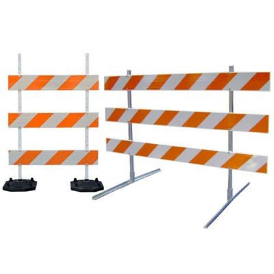 type 3 traffic barricade systems