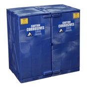 Polyethylene Acid Storage Cabinets Suitable for Use with Sulfuric, Hydrochloric and Nitric Acids