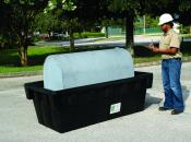 275 Gallon Fuel Tank Containment - WITH Drain