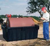 550 Gallon Fuel Tank Containment - NO Drain