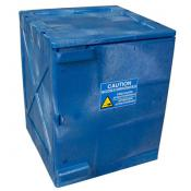 AM04CRAE 4 Gal Acid/Corrosive Poly Manual Cabinet