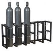 5-tank gas cylinder storage rack A35166J