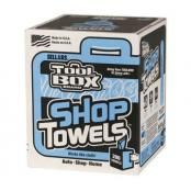Blue shop towels - 200 ct box