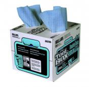 Blue shop towels - 140 sheet box