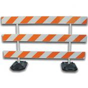 8ft type 3 traffic barricade