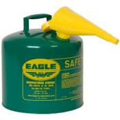 5 Gallon - Combustibles Safety Can - WITH Funnel