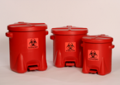 14 Gallon Biohazard Waste Containers
