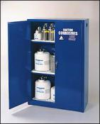 Steel Acid and Corrosive Storage Cabinets with Additional Chemical Protection